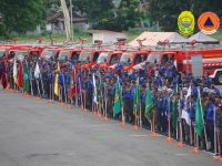 Roadshow HUT Damkar 101: Opening Ceremony Skill Competition